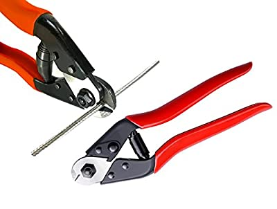 """Stainless Steel Wire Rope Aircraft Bicycle Cable Cutter,Up To 5/32"""""""