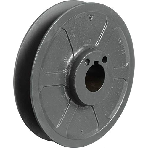 Browning 1VP30X5/8 Variable Pitch Sheave, 1 Groove, Finished Bore, Cast Iron Sheave, for 3L Section Belt