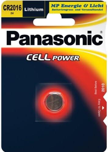 Panasonic Cr2016 Lithium Knopfzelle 3v 2er Pack 2b Elektronik