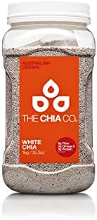 The Chia Company Seed Tub, White, 35.3 Ounce