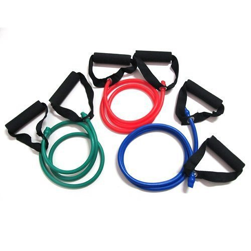 Yoga Exercise Resistance Band Stretch Fitness Tube Cable for