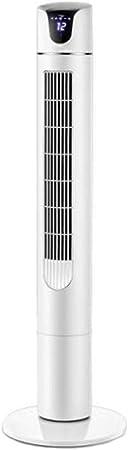 Opinión sobre FHDF Ventilador de Torre silencioso de enfriamiento portátil oscilante con Control Remoto, Velocidad de Gran Ventilador Potente 3 Tipos de Viento para el hogar y la Oficina del Dormitorio (Blanco, 50