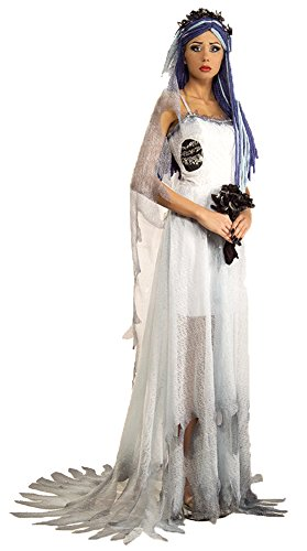 Deluxe Corpse Bride Costume - Large - Dress (Corpse Bride Deluxe Womens Costumes)