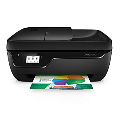 HP Officejet 3831 Multifunktionsdrucker (Instant Ink, Drucker, Kopierer, Scanner, Fax, WLAN, Airprint) mit 2 Probemonaten HP Instant Ink inklusive 1