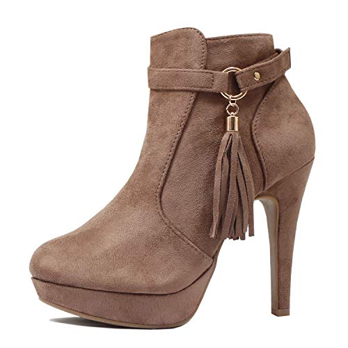 Guilty Heart | Khole-1 Taupe Suede, 7