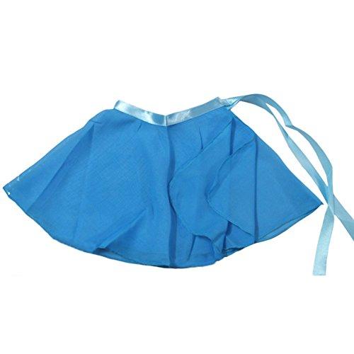 girls ballet skirt light blue - 7