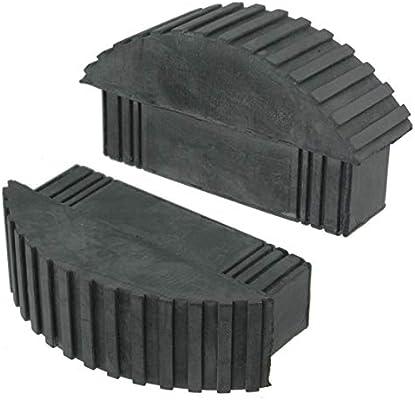 Spares2go Universal pies de goma para caja sección Step and Ladders de extensión (2 unidades): Amazon.es: Bricolaje y herramientas