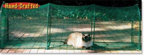 Kittywalk Outdoor Net Cat Enclosure for Decks, Patios, Balconies, My Pet Supplies