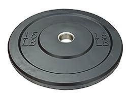 Apollo Athletics Bumper Plate Standard, 45 lb