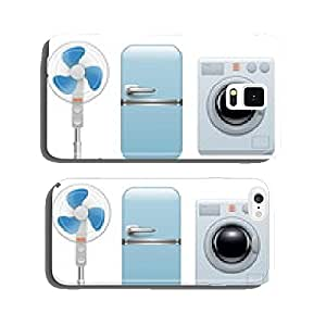 Vector household appliances icons cell phone cover case iPhone6 Plus