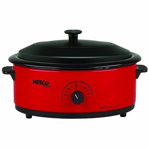 Nesco 6-Quart Roaster Oven Red 4816-12
