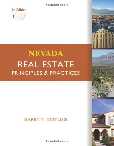 Nevada Real Estate: Principles and Practices by ONCOURSE LEARNING