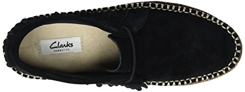 Clarks Damen Damara Thrill Mokassin Schwarz (Black Sde)