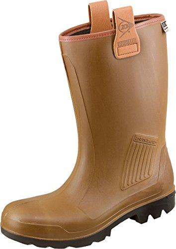 Dunlop Purofort+ Rig Air S5 Ci SRA 0516 Gummistiefel / Sicherheitsstiefel Braun