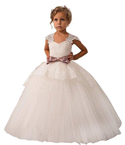 36e809ab3c Helen Baby Princess Bridesmaid Flower Girls Dresses Wedding Prom Gown073 -  Buy Online in Oman.