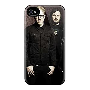Protector Cell-phone Hard Covers For Iphone 4/4s With Custom Attractive My Chemical Romance Band Pattern MansourMurray