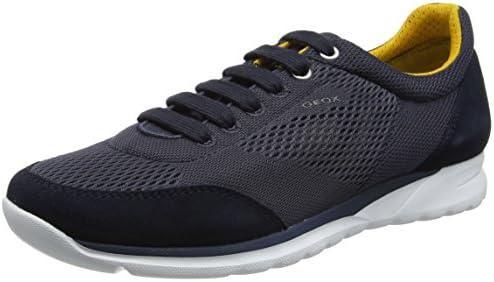 Geox Men's M Damian 4 Fashion Sneaker, Navy, 40 EU7 M US