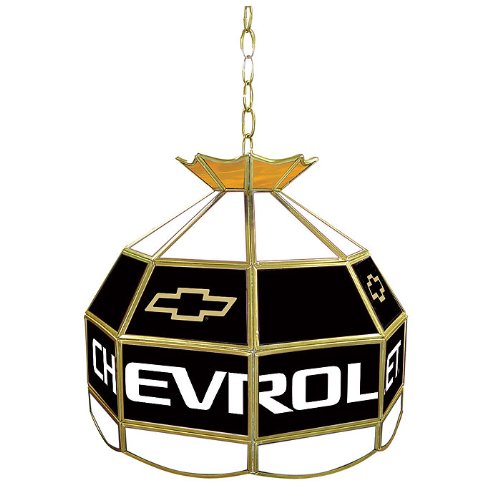 Chevrolet Tiffany Gameroom Lamp, 16'' by Trademark Gameroom