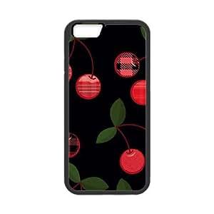 iPhone 6 Plus 5.5 Inch Cell Phone Case Black Black Cherries Yvqdc
