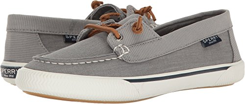 Sperry Quest Rhythm Canvas Grey Womens Boat Shoes Size 6.5M