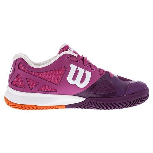 Wilson Women`s Rush Pro 2.0 Tennisschuhe Fiesta Pink / Plumberry