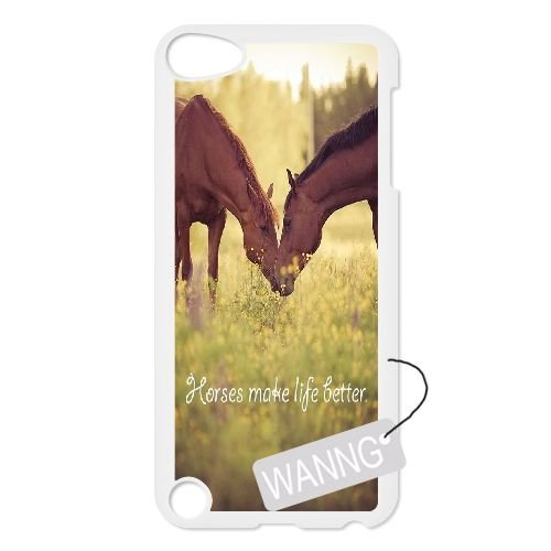 Horse Ipod Touch5 Plastic Case, Horse DIY Case for Ipod Touch5 at WANNG