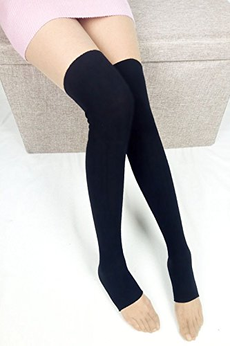 Air-conditioned rooms knee socks spring models stockings legs set protective boot covers over autumn step foot long piles of socks knee hold-ups