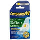 Compound W One Step Invisible Strips 14 Each (Pack of 11)