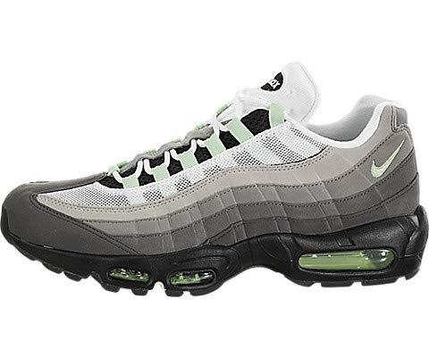Nike Air Max '95 Mens Sneakers CD7495-101, White/Fresh Mint-Granite-Dust, Size US 12