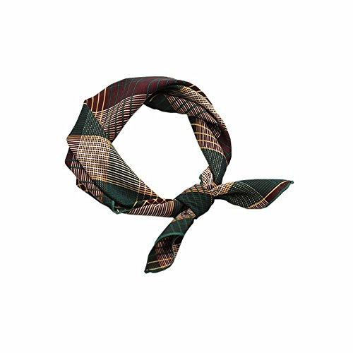 FLYRCX Nouveau style orthographique d'élégance élégance foulard soie foulard doux et confortable 55cmx55cm