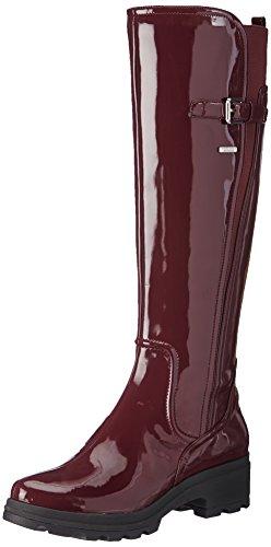 Rockport Waterproof Lriil Rain - - Mujer Vino