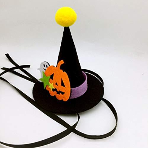Christmas Hats - Halloween Pet Cat Hat Pumpkin Designe Party Costume Cute Headwear 2019 - Funny Kids Dogs Headbands Adults Women Hats Lights Clearance Cats Light Bulk Christmas Babies That]()