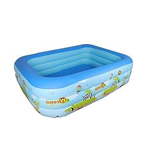 Bettying Piscina gonfiabile per bambini adulto, per esterni, giardino, cortile, estate, acqua, 1,2 m 3 Schichten 4 spesavip