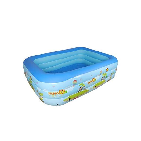 Bettying Piscina gonfiabile per bambini adulto, per esterni, giardino, cortile, estate, acqua, 1,2 m 3 Schichten 1 spesavip