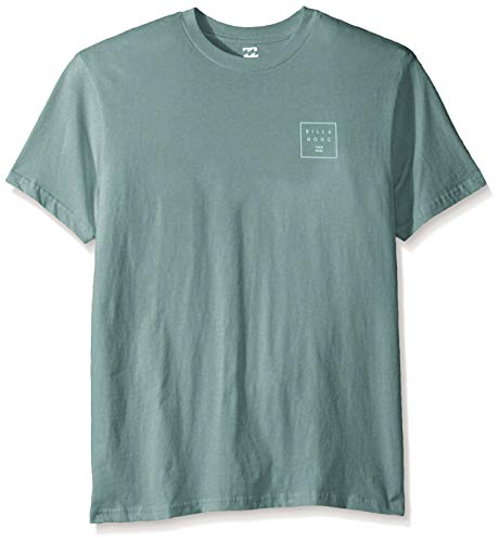 Billabong Men's Stacked T-Shirt Dust Green 2XL from Billabong