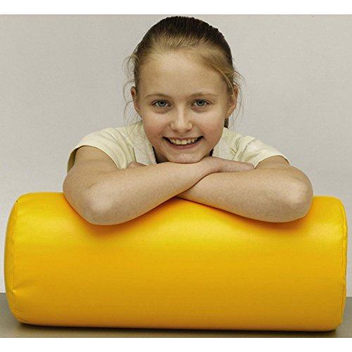 Sensory Soft Play Bolster Pillows Set of 4 Yellow Blue Green Red by SpaceKraft