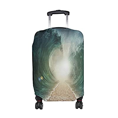 74a293d14a32 80%OFF LORVIES Parted Seas Print Travel Luggage Protective Covers ...