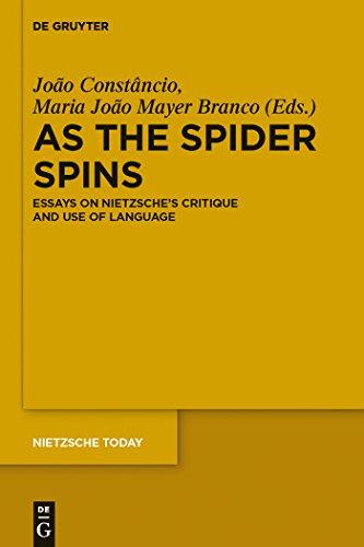 As the Spider Spins: Essays on Nietzsche's Critique and Use of Language (Nietzsche - Spider Chr