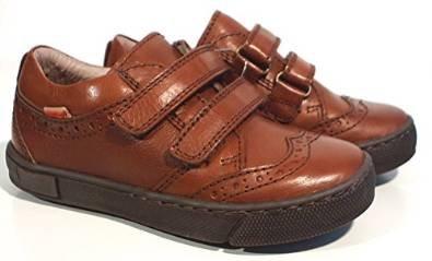 FRODDO Sneaker Halbschuhe cognac braun Budapester