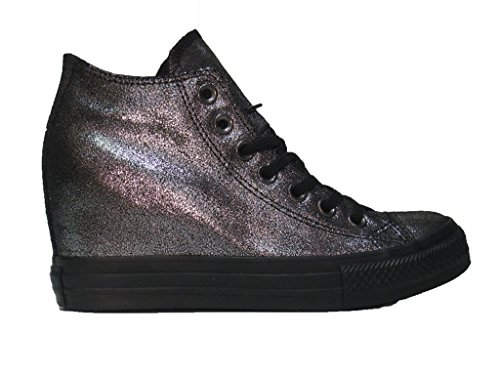Mid 550669C Stiefel Leinwand Converse All Ct Silberglitter Star Glitter Lux Schuhe aHx7TqB