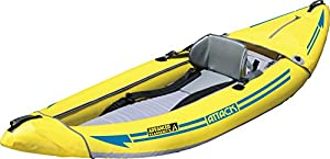 AE1050-Y Advanced Elements Attack Whitewater Inflatable Kayak, Yellow from Advanced Elements Inc.