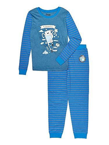 Adventure Time Jake Pajamas (Intimo Little Boys' Adventure Time Big Boy Cotton Pajamas, Blue,)