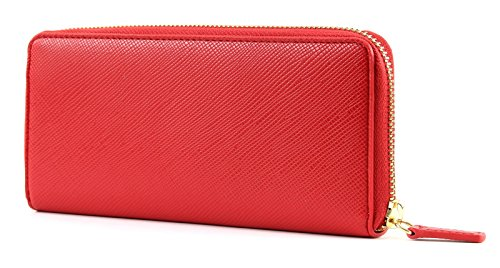 with wallet red Jo Liu zip Hawaii zSO1f