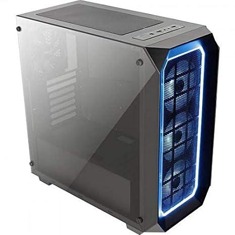 Aerocool P7C0PRO - Caja gaming para PC (semitorre, ATX, panel cristal templado,