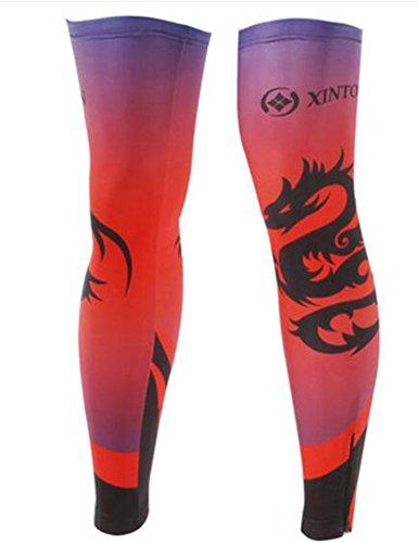 George Jimmy UPF 50+ Cycling/Hiking/Running/Basketball/Golf/Fishing Leg Sleeves XXL-21 by George Jimmy