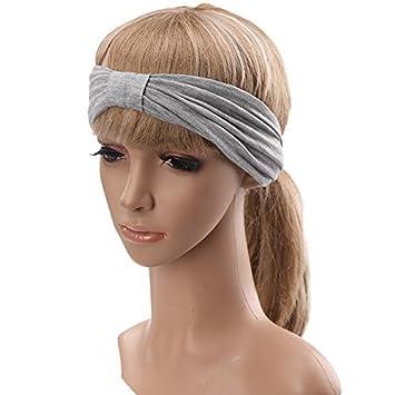 Amazon.com: SIGGI Womens absorbe la humedad Twisted turbante ...