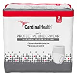 55UWMLXL18PK - Cardinal Maximum Absorbency Protective Underwear for Men, Large/Extra Large, 45 - 58, 130 - 230 lbs REPLACES ZRPUM18