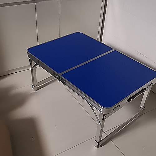 Fällbart bord multifunktionellt bord utomhus fällbart bärbart ställ fällbord skåp enkelt hushåll litet fällbart matbord storlek 90 x 60 x 54 / 43/40 cm