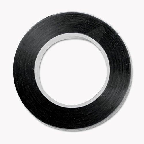 COSCO Art Tape 1/8'', Black (12-PACK)