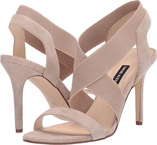Nine West Women's Maya Heeled Sandal Sand 9 M US